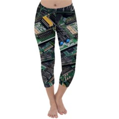 Computer Ram Tech Capri Winter Leggings