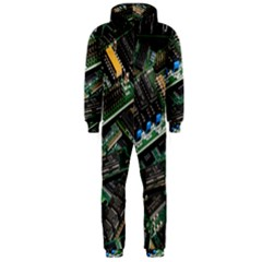 Computer Ram Tech Hooded Jumpsuit (men)
