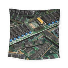 Computer Ram Tech Square Tapestry (small)