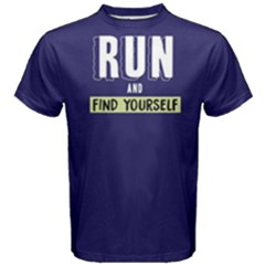 Run And Find Yourself   Men s Cotton Tee