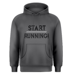 Start Running   Men s Pullover Hoodie