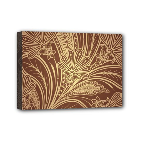 Beautiful Patterns Vector Mini Canvas 7  X 5