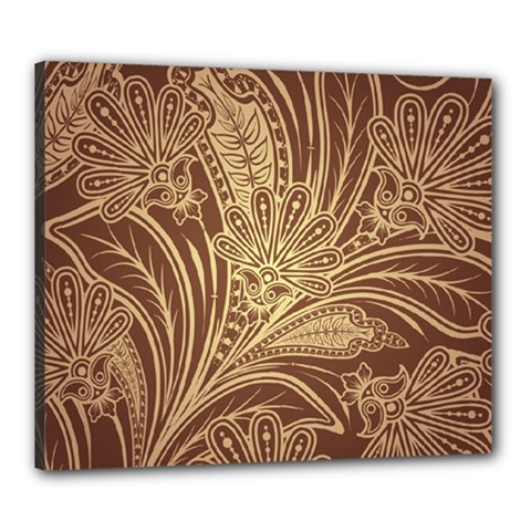 Beautiful Patterns Vector Canvas 24  X 20