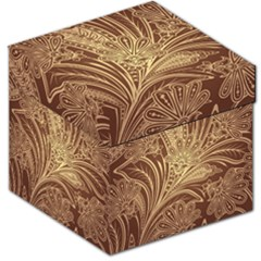 Beautiful Patterns Vector Storage Stool 12