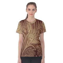 Beautiful Patterns Vector Women s Cotton Tee