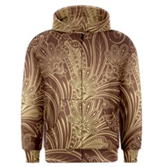 Beautiful Patterns Vector Men s Zipper Hoodie