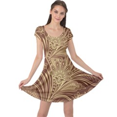 Beautiful Patterns Vector Cap Sleeve Dresses