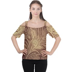 Beautiful Patterns Vector Women s Cutout Shoulder Tee