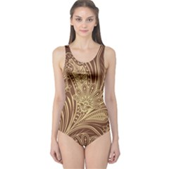 Beautiful Patterns Vector One Piece Swimsuit