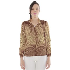 Beautiful Patterns Vector Wind Breaker (Women)