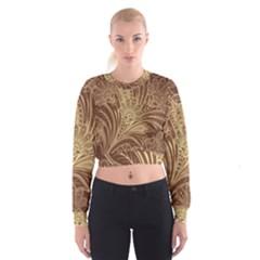 Beautiful Patterns Vector Women s Cropped Sweatshirt