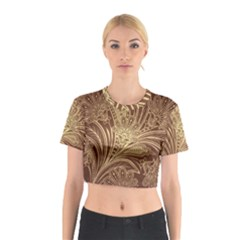 Beautiful Patterns Vector Cotton Crop Top