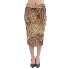 Beautiful Patterns Vector Midi Pencil Skirt