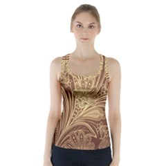 Beautiful Patterns Vector Racer Back Sports Top