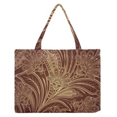 Beautiful Patterns Vector Medium Zipper Tote Bag