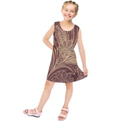 Beautiful Patterns Vector Kids  Tunic Dress