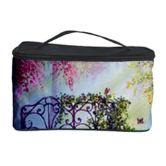 Bench In Spring Forest Cosmetic Storage Case