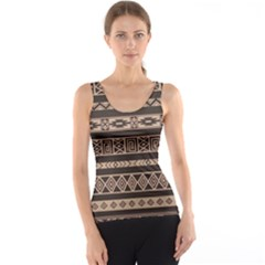Ethnic Pattern Vector Tank Top