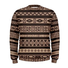 Ethnic Pattern Vector Men s Sweatshirt