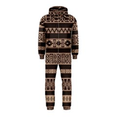Ethnic Pattern Vector Hooded Jumpsuit (kids)