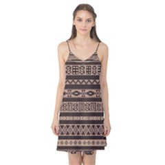 Ethnic Pattern Vector Camis Nightgown