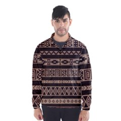 Ethnic Pattern Vector Wind Breaker (men)