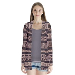 Ethnic Pattern Vector Cardigans