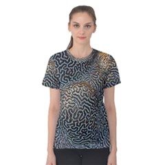 Coral Pattern Women s Cotton Tee