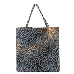 Coral Pattern Grocery Tote Bag