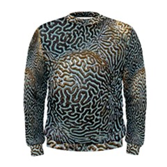 Coral Pattern Men s Sweatshirt
