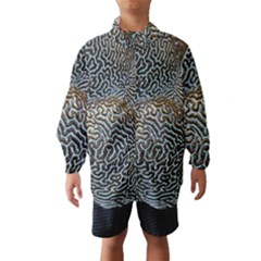 Coral Pattern Wind Breaker (kids)