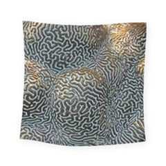 Coral Pattern Square Tapestry (small)