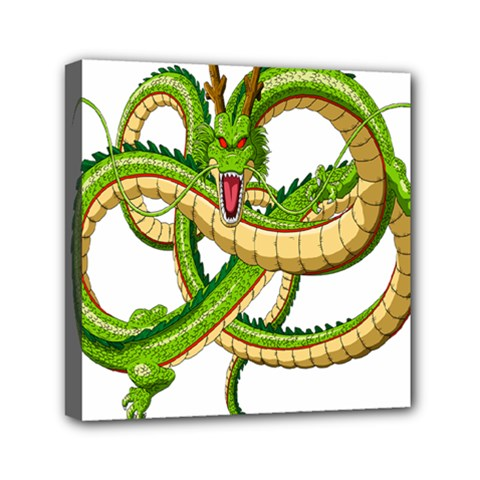 Dragon Snake Mini Canvas 6  X 6