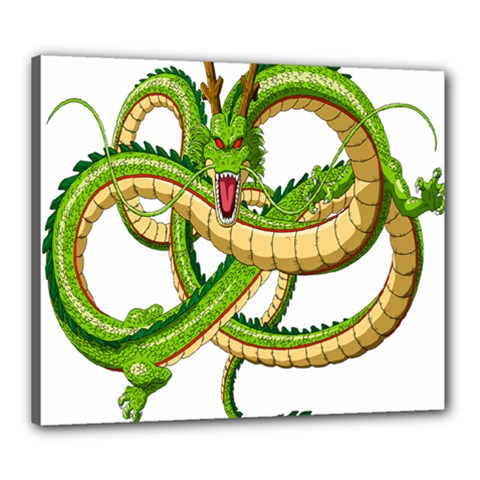 Dragon Snake Canvas 24  X 20