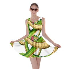 Dragon Snake Skater Dress