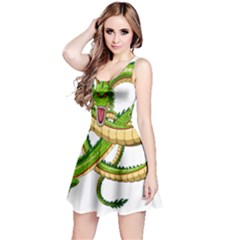 Dragon Snake Reversible Sleeveless Dress
