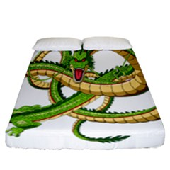 Dragon Snake Fitted Sheet (california King Size)