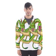 Dragon Snake Hooded Wind Breaker (men)