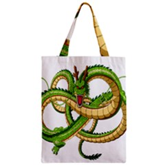 Dragon Snake Zipper Classic Tote Bag