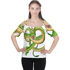Dragon Snake Women s Cutout Shoulder Tee