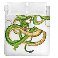 Dragon Snake Duvet Cover Double Side (queen Size)