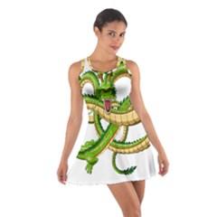 Dragon Snake Cotton Racerback Dress