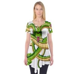 Dragon Snake Short Sleeve Tunic