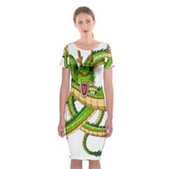 Dragon Snake Classic Short Sleeve Midi Dress