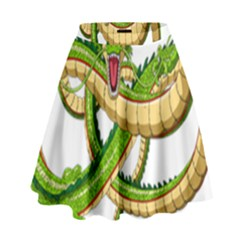 Dragon Snake High Waist Skirt