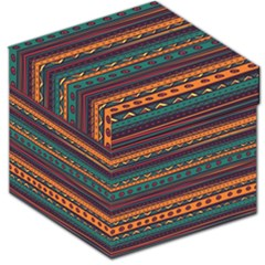 Ethnic Style Tribal Patterns Graphics Vector Storage Stool 12