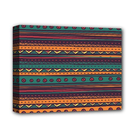 Ethnic Style Tribal Patterns Graphics Vector Deluxe Canvas 14  X 11
