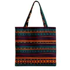 Ethnic Style Tribal Patterns Graphics Vector Grocery Tote Bag