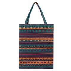 Ethnic Style Tribal Patterns Graphics Vector Classic Tote Bag