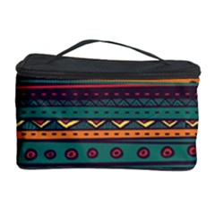 Ethnic Style Tribal Patterns Graphics Vector Cosmetic Storage Case